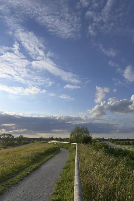 Hachinger Tal: Der Grünzug im Hachinger Tal dient der Frischluftzufuhr Münchens und der Abkühlung der Stadt.