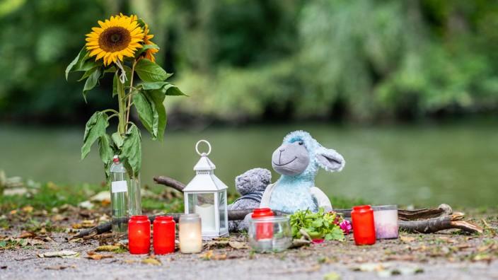 Gedenken an eine getötete Frau in Hamm