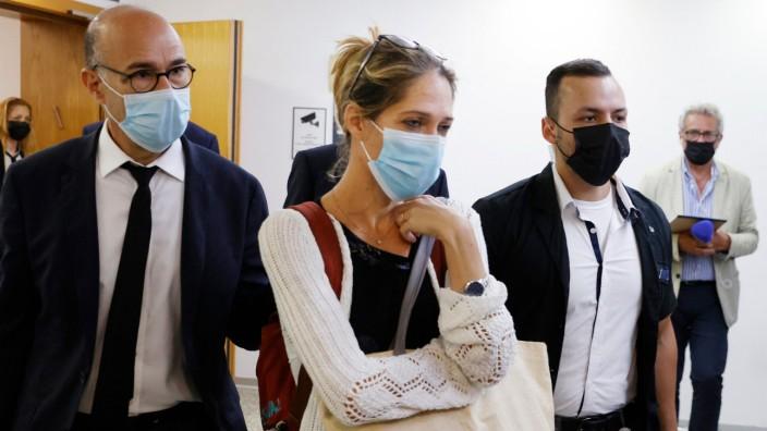 Nach Seilbahn-Unglück: Die Tante des Sechsjährigen ist für das Verfahren am Familiengericht aus Italien nach Tel Aviv gereist.