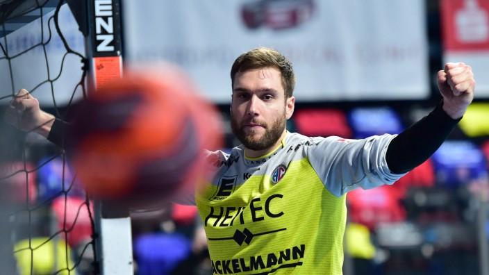19.12.2020 - Handball - 1. Bundesliga LIQUI MOLY HBL - Saison 2020 2021 - 14. Spieltag: HC Erlangen Metropolregion Nürnb; Klemen Ferlin