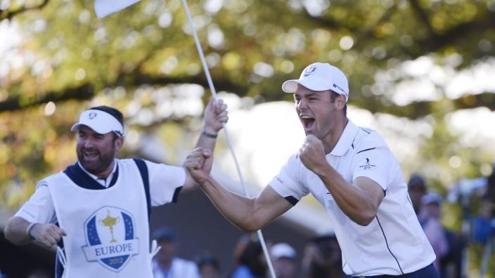 Ryder Cup: Martin Kaymer locht 2012 den entscheidenden Putt