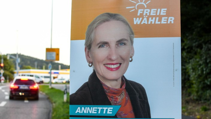GER, Bundestagswahl 2021, Wahlplakate in Bayern