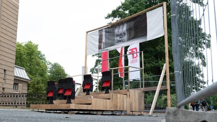 Streit um Kunstinstallation - Stadt Görlitz darf sie abbauen
