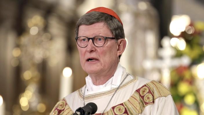 Rainer Maria Kardinal Woelki (Erzbischof von Köln) bei einem Gedächtnisgottesdienst für die verstorbenen Mitglieder der