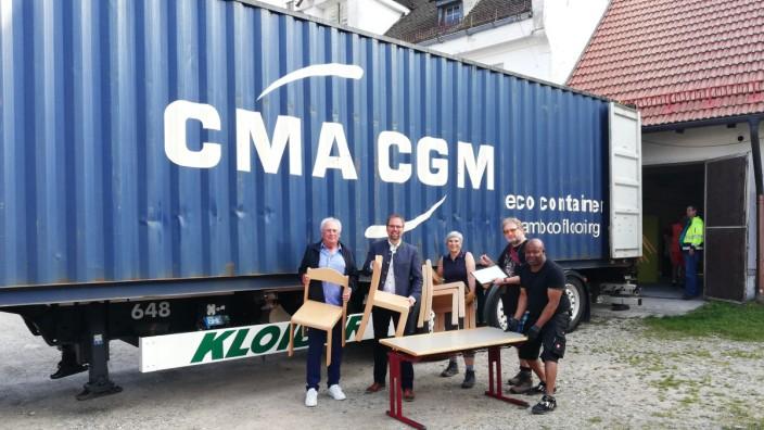 Olching Schulmöbel aus Olching für Togo