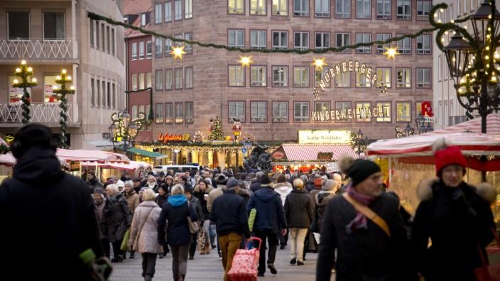 Weihnachtliche Nürnberger Altstadt, 2016