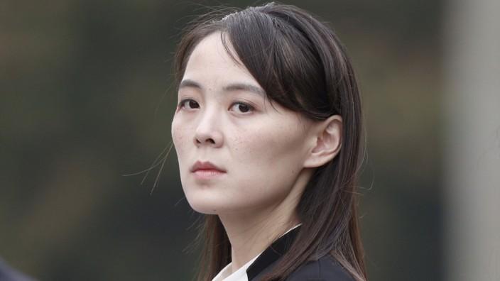 Nordkorea: Kim Yo-jong, Schwester des nordkoreanischen Machthabers Kim Jong-un, knüpft die Wiederaufnahme von Gesprächen mit Südkorea an einige Bedingungen. (Archivbild)