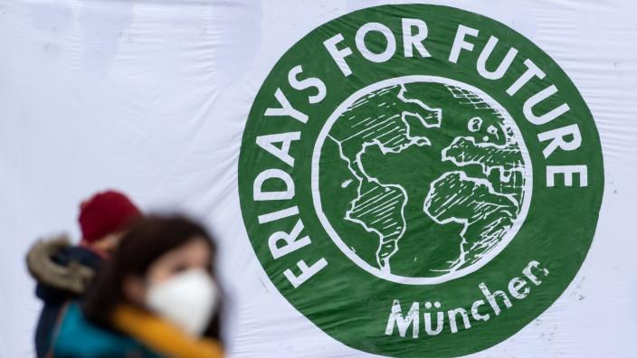 Klimaprotest Fridays for Future - München