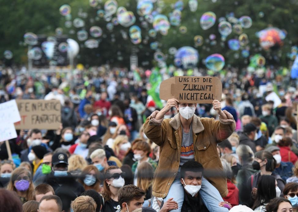 Fridays for Future: Klimastreik in Berlin 2021