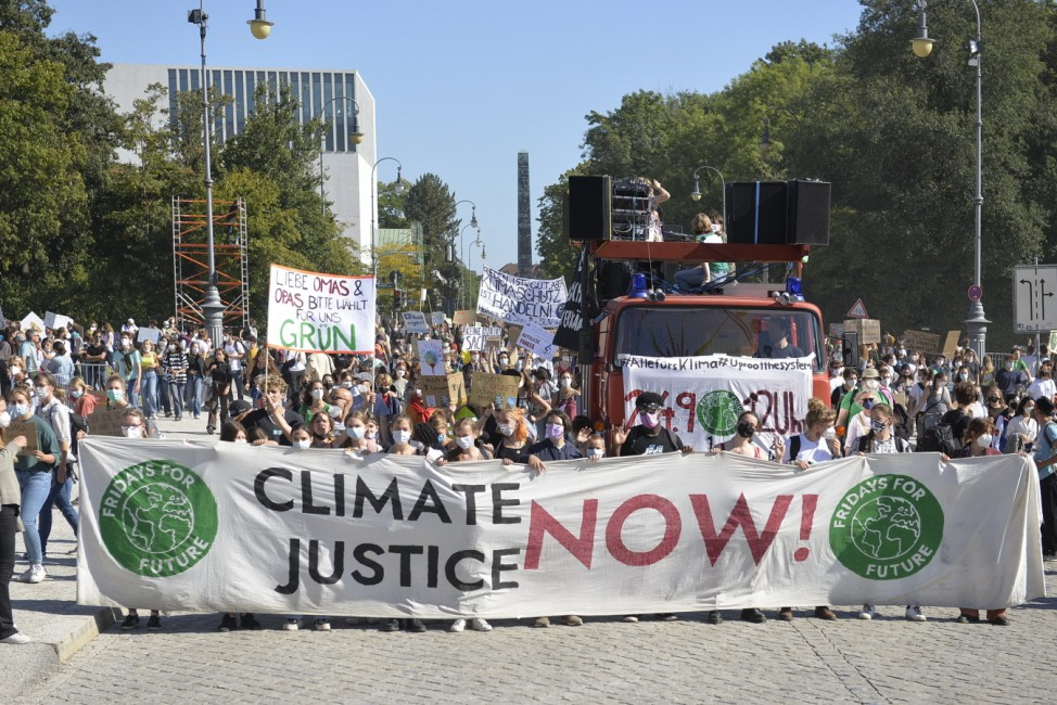 Klimastreik - Fridays for Future, 2021