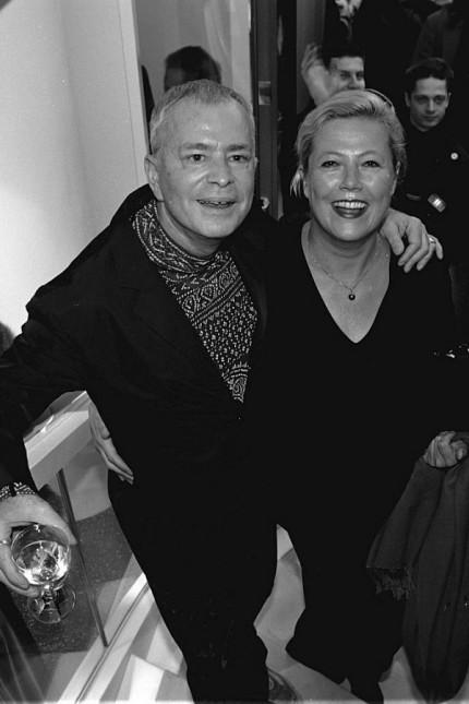 Modelldesignerin Susanne Wiebe und Bernd Stockinger