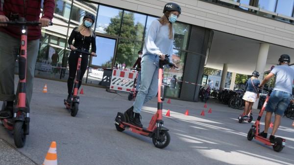 Fahrsicherheitstraining E-Scooter