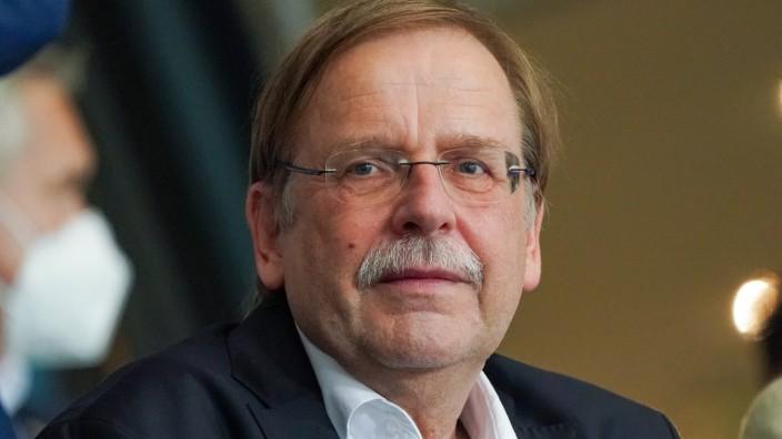 DFB Interimspräsident Dr. Rainer Koch - Stuttgart 05.09.2021: Deutschland vs. Armenien, Mercedes-Benz Arena Stuttgart **; Koch