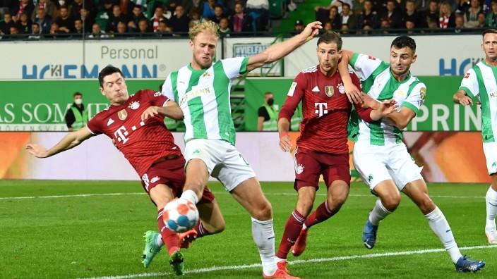 24.09.2021 - Fussball - Saison 2021 2022 - 1. Fussball - Bundesliga - 06. Spieltag: SpVgg Greuther Fürth ( Kleeblatt )