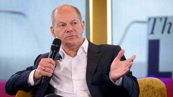 Podcast-Interview mit SPD-Kanzlerkandidat Scholz