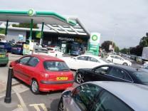 Nach Lieferengpässen: Großbritannien bietet 5000 LKW-Fahrern befristete Visa an