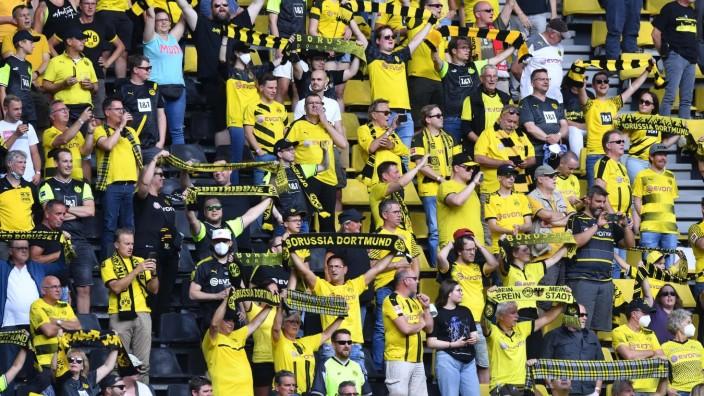 Fußball 1. Bundesliga 1. Spieltag Borussia Dortmund - Eintracht Frankfurt am 14.08.2021 im Signal Iduna Park in Dortmund
