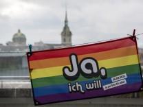 Volksabstimmung über die 'Ehe für alle' in der Schweiz