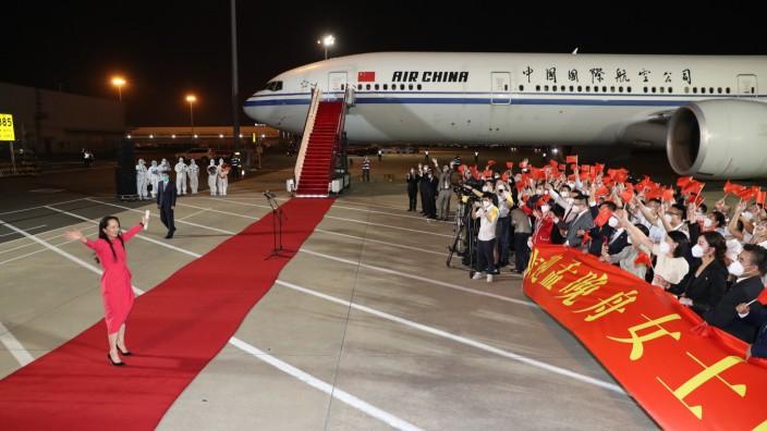 Huawei-Finanzchefin zurück in China
