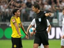 25.09.2021, Fussball GER, Saison 21/22, 1. Bundesliga, 6. Spieltag, Borussia Mönchengladbach vs Borussia Dortmund, Mahm