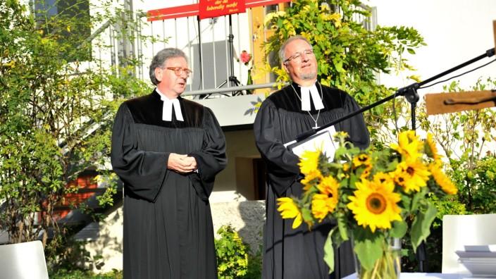 Starnberg: Friedenskirche Verabschiedung Pfarrer Stefan Koch