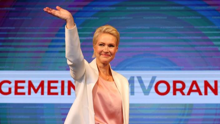 Landtagswahl MV - Wahlparty SPD
