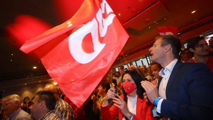 Bundestagswahl - Wahlparty SPD Bayern