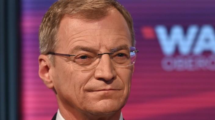 Wahltag der Landtagswahlen im österreichischen Bundesland Oberösterreich, mit Präsentaton der Wahlergebnisse im Ursulin