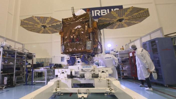 Pleiades neo Erdbeobachtungssatelliten Airbus