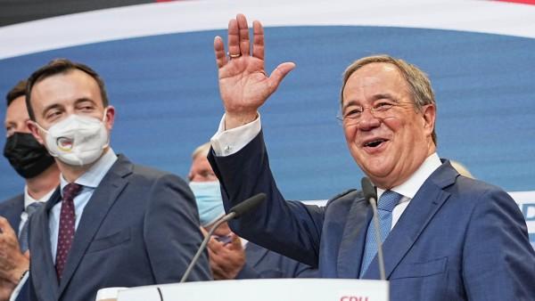 Bundestagswahl - Wahlparty CDU/CSU