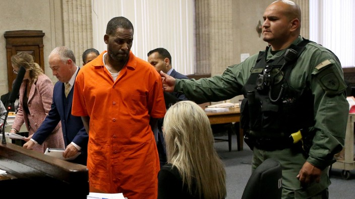 Rapper R. Kelly 2019 vor Gericht in Chicago
