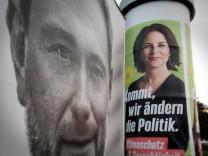 Sondierungsgespräche: Grüne und FDP: Vertrauen gesucht