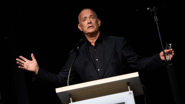 Academy Museum: Nueva inauguración en Los Ángeles: Tom Hanks habla en la conferencia de prensa del museo; es uno de los grandes partidarios de la idea.