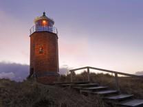 Alter Leuchtturm Kampen Sylt Nordfriesland Schleswig Holstein Deutschland Europa Copyright im