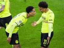 28.09.2021 - Fußball, 2021/2022, UEFA UEFA Champions League, 2. Spieltag, Borussia Dortmund - Sporting Lissabon: (L-R); Malen Bellingham Dortmund