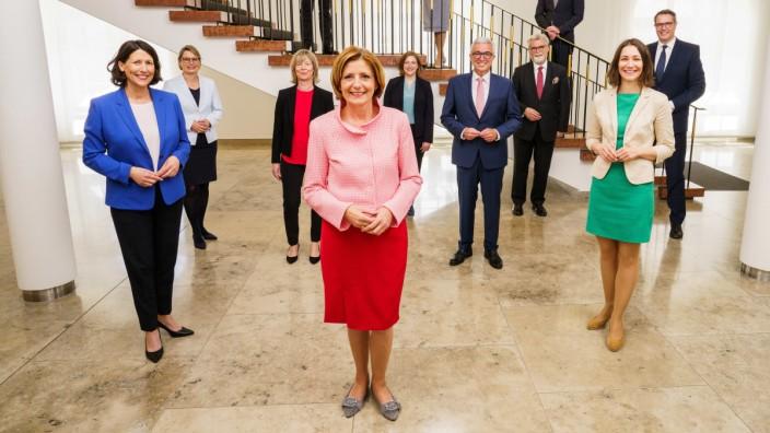Konstituierende Plenarsitzung im Landtag Rheinland-Pfalz