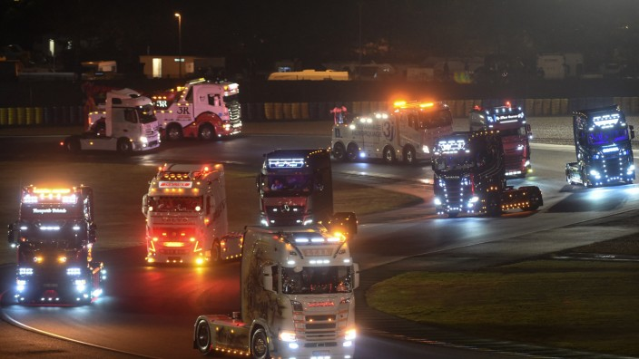 Traton: Wer liegt vorn, Scania oder MAN? Nicht nur beim 24-Stunden-Rennen von Le Mans ist das sehr einfach festzustellen.