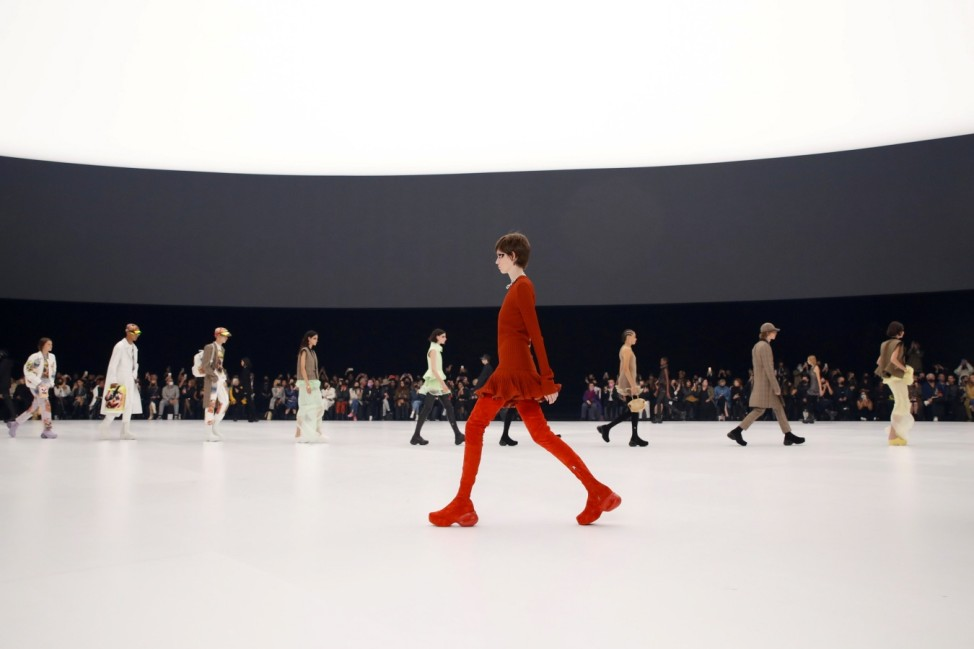 Givenchy's Spring/Summer 2022 show at Paris fashion Week
