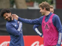 Training Nationalmannschaft vor dem WM-Qualifikationsspiel