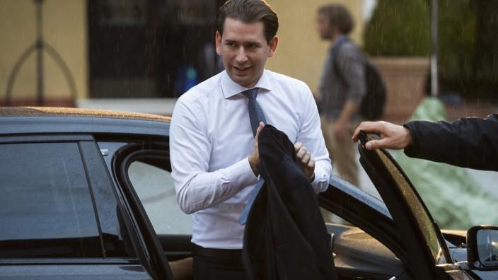 Österreich: Bundeskanzler Sebastian Kurz (ÖVP)