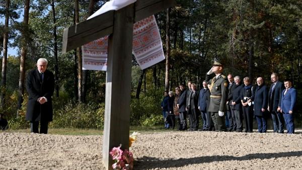 Bundespräsident Steinmeier in der Ukraine