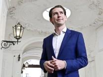 Sondierungsgespräch in Österreich
