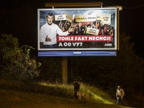 Czech Prime Minister Andrej Babis Campaigns Ahead Of Election