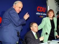 Kohl Schäuble Merkel