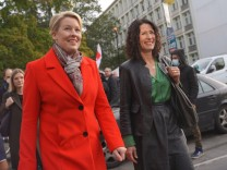 SPD und Grüne treffen sich zu Sondierungen für Berlin