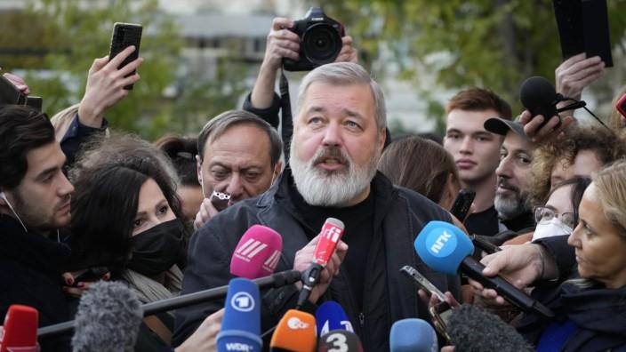 Friedensnobelpreis - Dmitri Muratow