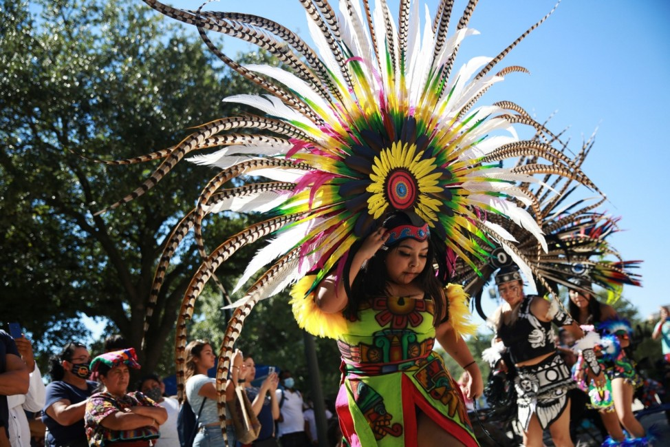 Event to mark Indigenous People's day is held in Austin
