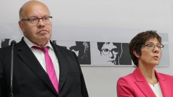 Altmaier und Kramp-Karrenbauer verzichten auf Bundestagsmandate