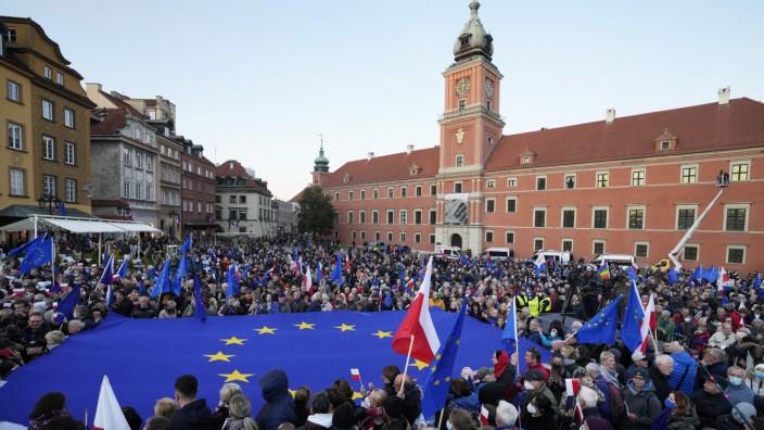 Proteste gegen Urteil des Verfassungsgerichts in Polen