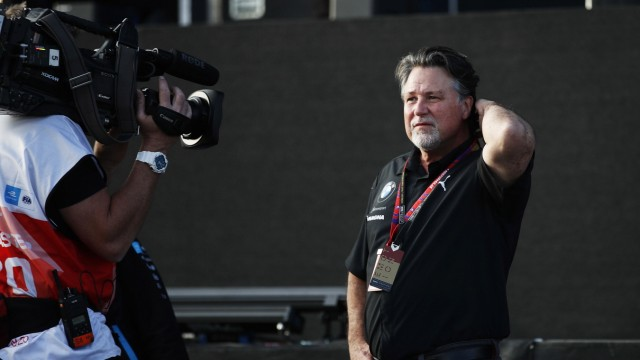 Mandatory Credit: Photo by Joe Portlock/Motorsport Images/Shutterstock (11829881cw) Michael Andretti, Chief Executive Of; Michael Andretti